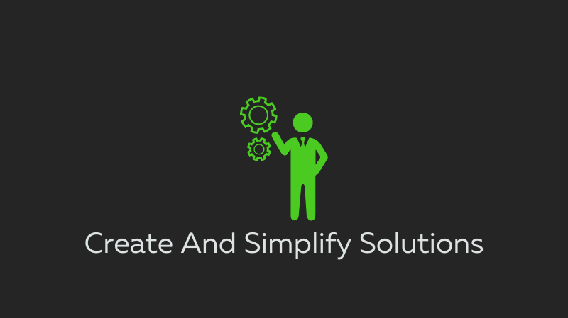 Create and Simplify Solutions